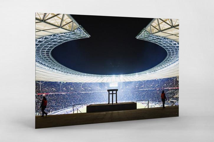 Fußball Wandbild Berlin Olympiastadion Sebastian Wells