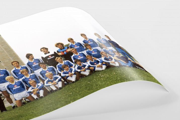 Hertha BSC Mannschaftsfoto 1978/79 - 11FREUNDE BILDERWELT