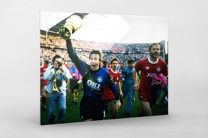 Lauterer Pokaljubel 1990 (2) - Fußball Foto Wandbild - 11FREUNDE SHOP