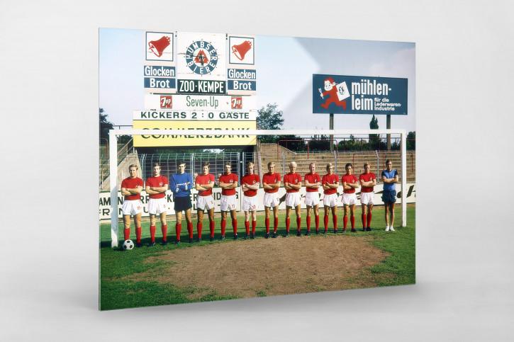 Kickers Offenbach Mannschaftsfoto 1970/71 - 11FREUNDE BILDERWELT