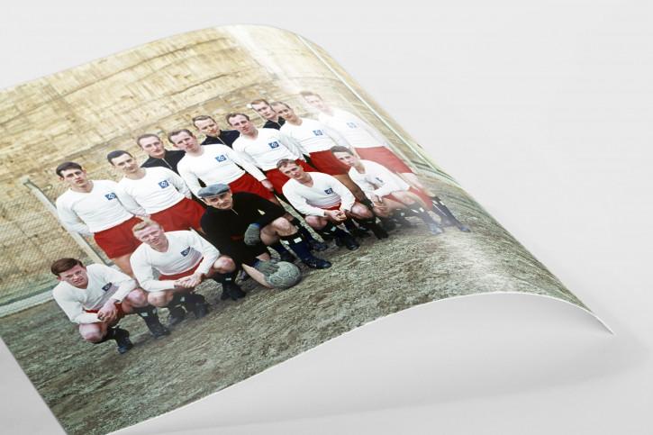HSV Mannschaftsfoto 1961/62 - 11FREUNDE BILDERWELT