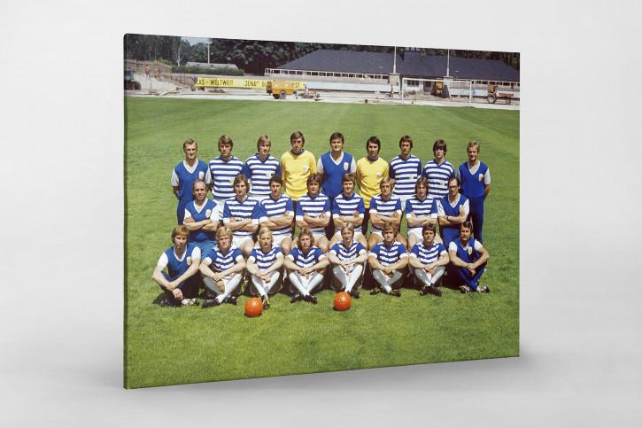 FC Carl Zeiss Jena (1) Mannschaftsfoto in den Siebzigern - 11FREUNDE BILDERWELT