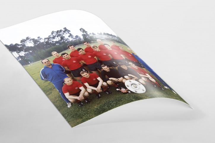 1. FC Nürnberg Mannschaftsfoto 1968/69 - 11FREUNDE BILDERWELT