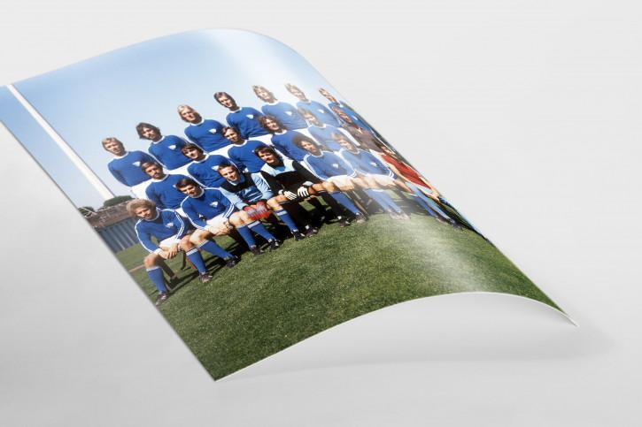 VfL Bochum Mannschaftsfoto 1976/77 - 11FREUNDE BILDERWELT
