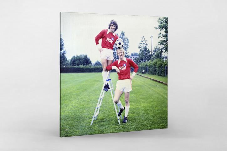 Keegan und Hrubesch - 11FREUNDE SHOP - Wandbild
