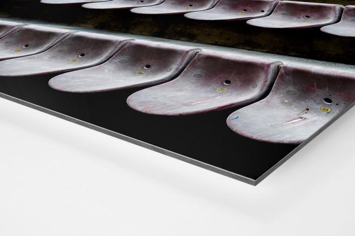 Sitzschalen in Pisa - Wandbild - 11FREUNDE SHOP