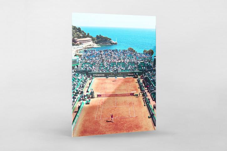 Tennis mit Aussicht - Sport Fotografie als Wandbild - Tennis Foto - NoSports Magazin - 11FREUNDE SHOP