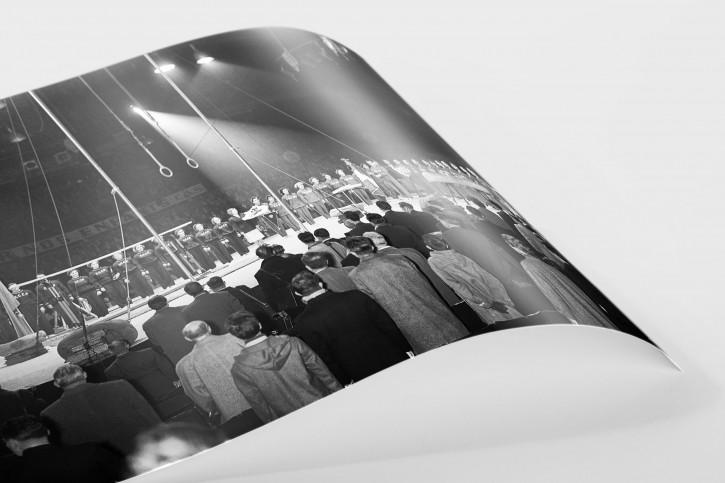 Französich-Sowjetisches Turnest - Sport Fotografie als Wandbild - Turnen Foto - NoSports Magazin