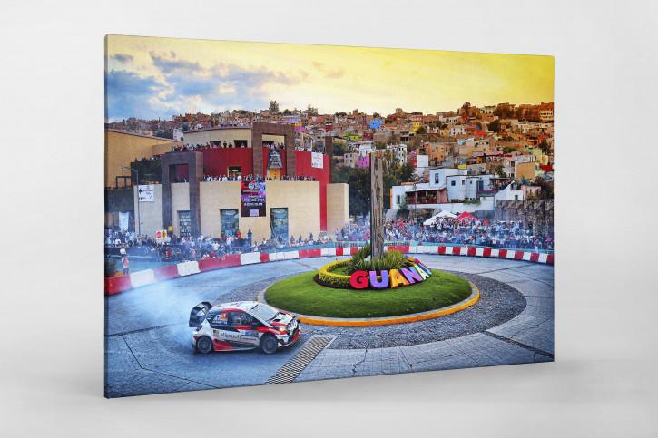 Rallye Mexico (4) - Sport Fotografie als Wandbild - Motorsport Foto - NoSports Magazin