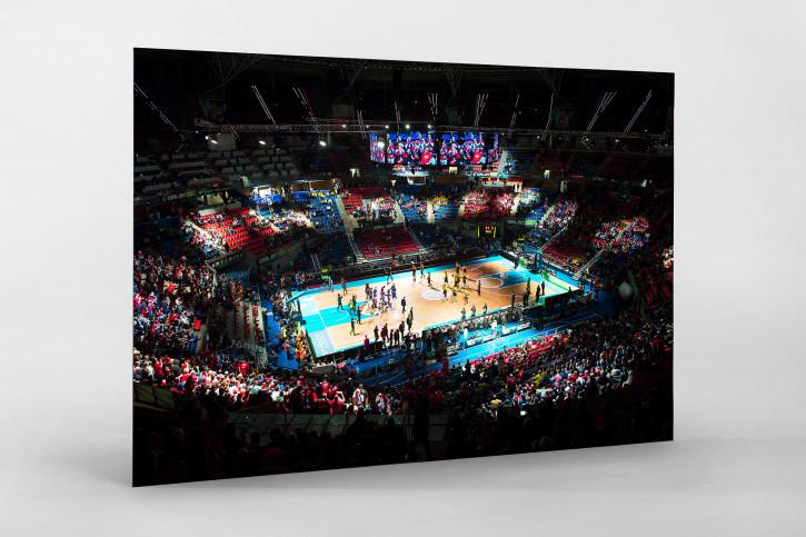 Basketball in Vitoria - Sport Fotografie als Wandbild - Basketball Foto - NoSports Magazin