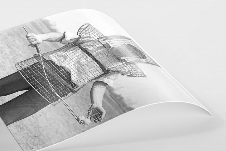 Sicherer Caddy  - Sport Fotografie als Wandbild - Golf Foto - NoSports Magazin