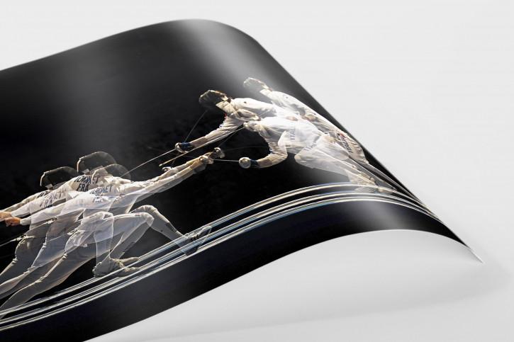 Fechten - Sport Fotografien als Wandbilder - Fechten Foto - NoSports Magazin