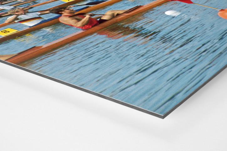 Zweierkajak 1972- Sport Fotografien als Wandbilder - Kajak Wassersport Foto - NoSports Magazin - 11FREUNDE SHOP