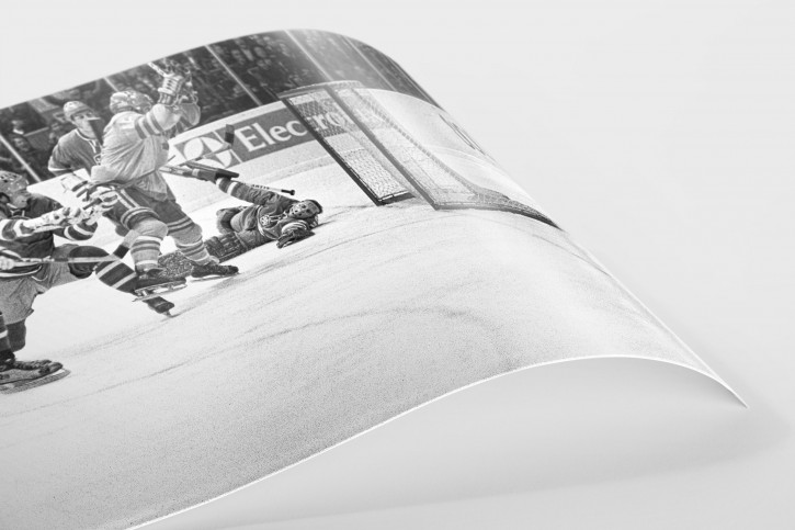 Im Luzhniki Sports Palace 1973 - Sport Fotografien als Wandbilder - Eishockey Foto - NoSports Magazin