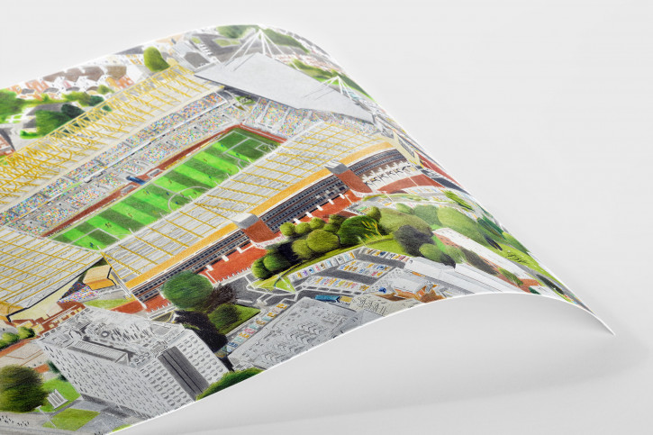 Stadia Art: Molineux Stadium - Poster bestellen - 11FREUNDE SHOP