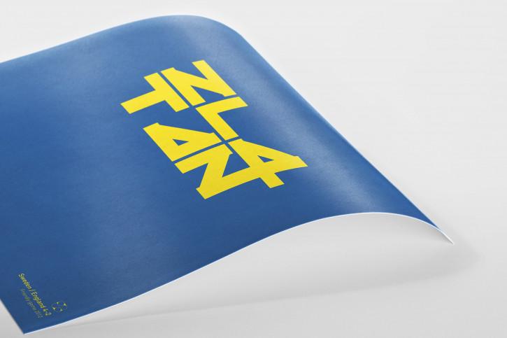 Zlatan: Sweden-England 4:2 - Poster bestellen - 11FREUNDE SHOP