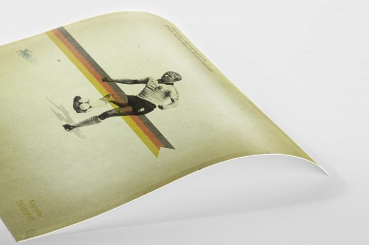 Hrubesch - Poster bestellen - 11FREUNDE SHOP