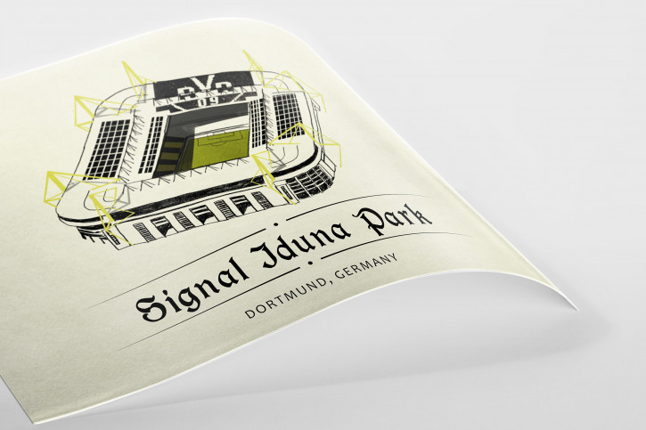World Of Stadiums: Signal-Iduna-Park - Poster bestellen - 11FREUNDE SHOP