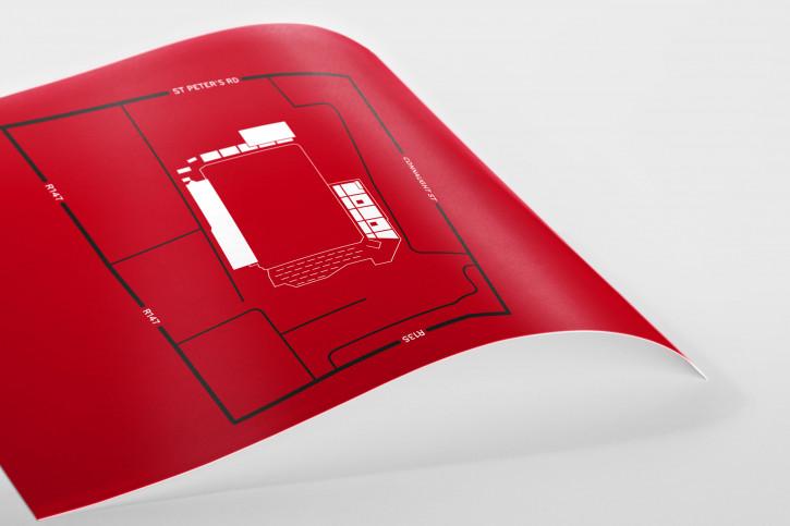 Stadionpiktogramm: Bohemians - Poster bestellen - 11FREUNDE SHOP