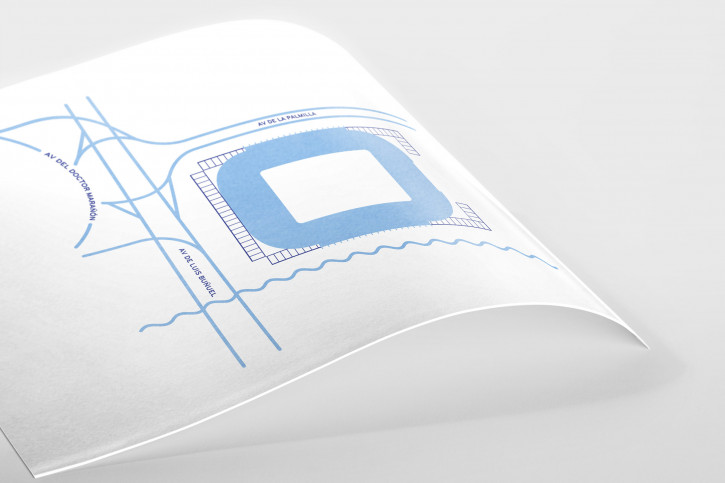 Piktogramm: Málaga - Poster bestellen - 11FREUNDE SHOP