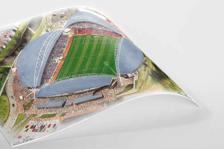 Stadia Art: John Smith's Stadium - Poster bestellen - 11FREUNDE SHOP