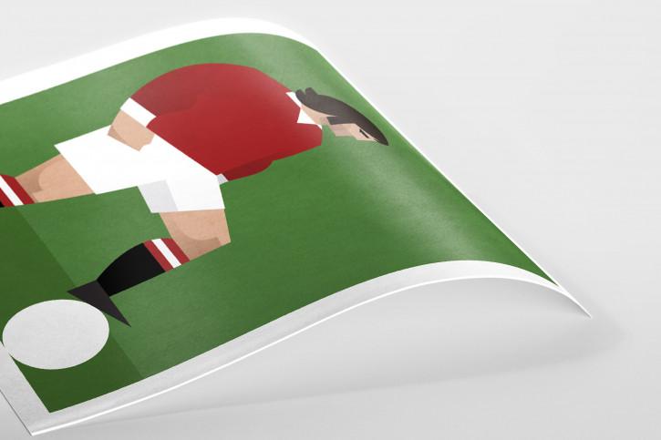 Stanley Chow F.C. - George - Poster bestellen - 11FREUNDE SHOP