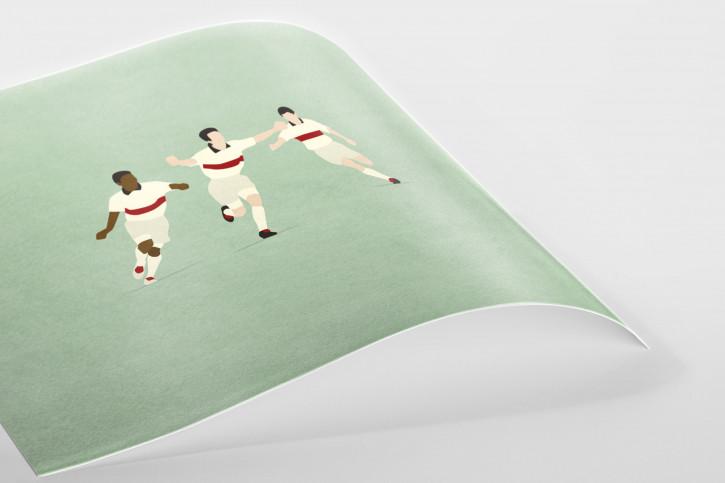 Das magische Dreieck - VfB Stuttgart Poster - 11FREUNDE SHOP