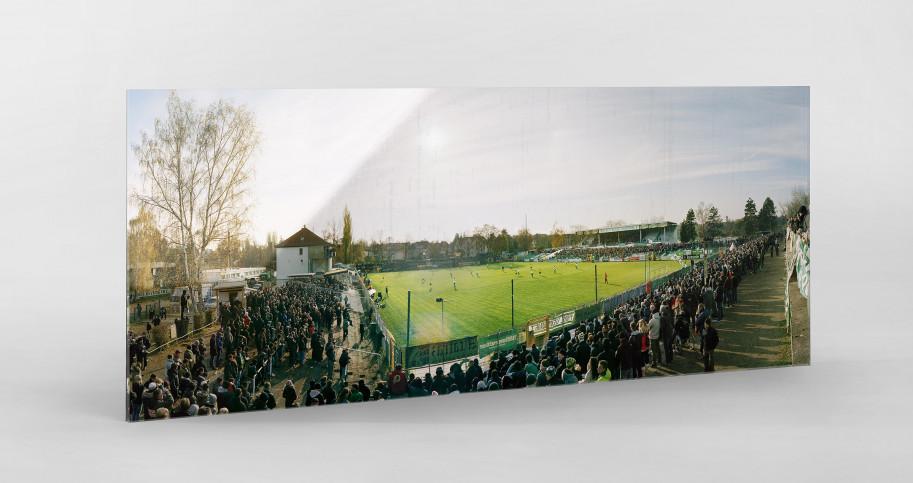 Leipzig (Chemie) - Alfred-Kunze-Sportpark - BSG Chemie Leipzig - Stadionfoto Panorama Fußball