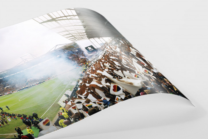 Stadion-Wandbild: St. Pauli Millerntor 2019