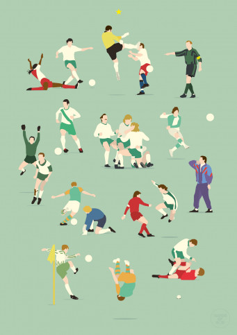 Bremen Legends - Poster Werder Bremen - 11FREUNDE SHOP