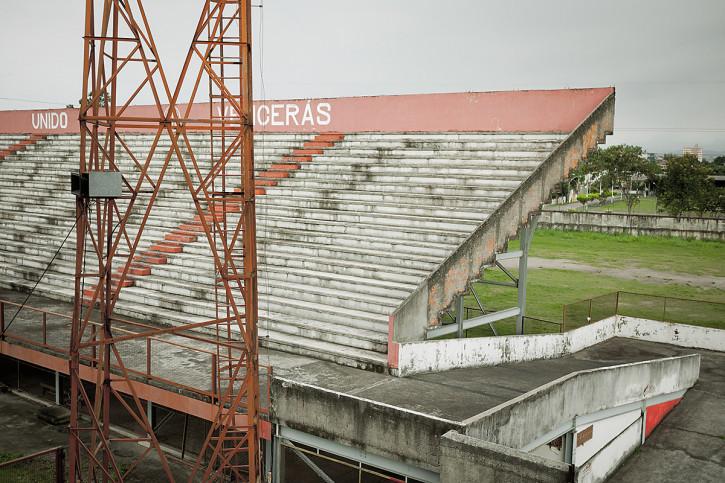 Tribüne im Stadion Giulite Coutinho - 11FREUNDE BILDERWELT