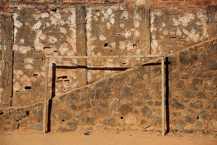 Fussballtor in Bahia - 11FREUNDE BILDERWELT