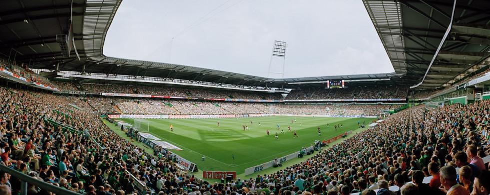 Bremen Weserstadion 2011 11FREUNDE SHOP - Fußball Foto Wandbild