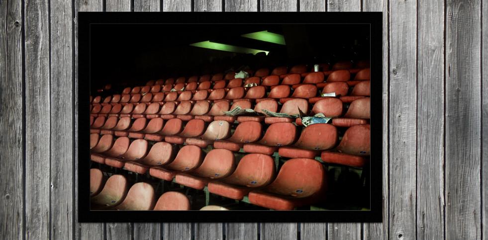 Schalensitze im San Paolo - Fußball Wandbild - 11FREUNDE SHOP