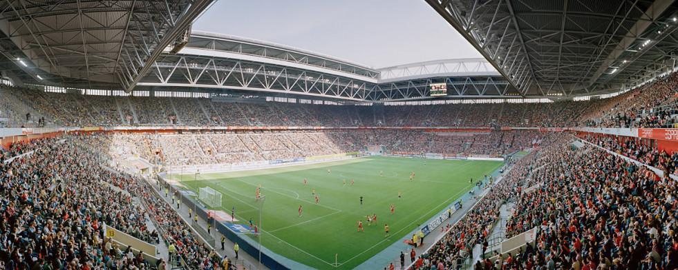 Düsseldorf Esprit Arena 2012 Stadionposter 11freunde Bilderwelt