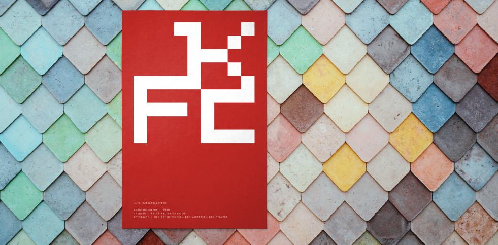 Pixel Lookalike: Kaiserslautern - Poster bestellen - 11FREUNDE SHOP