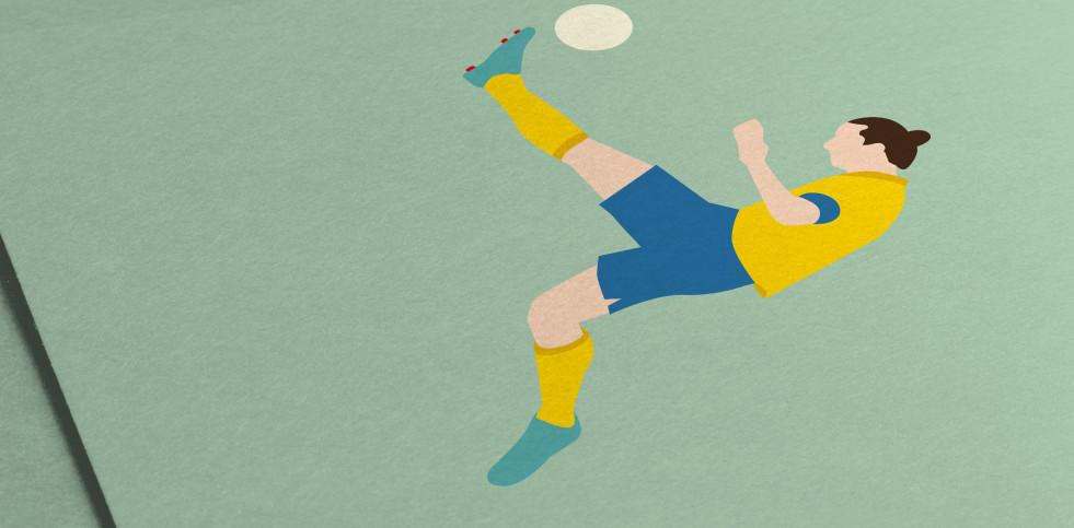 Zlatan - Ibrahimovic Poster - 11FREUNDE SHOP