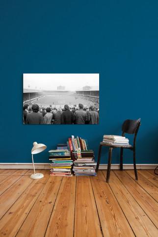 Im Ibrox Park - 11FREUNDE SHOP - Fußball Foto Wandbild