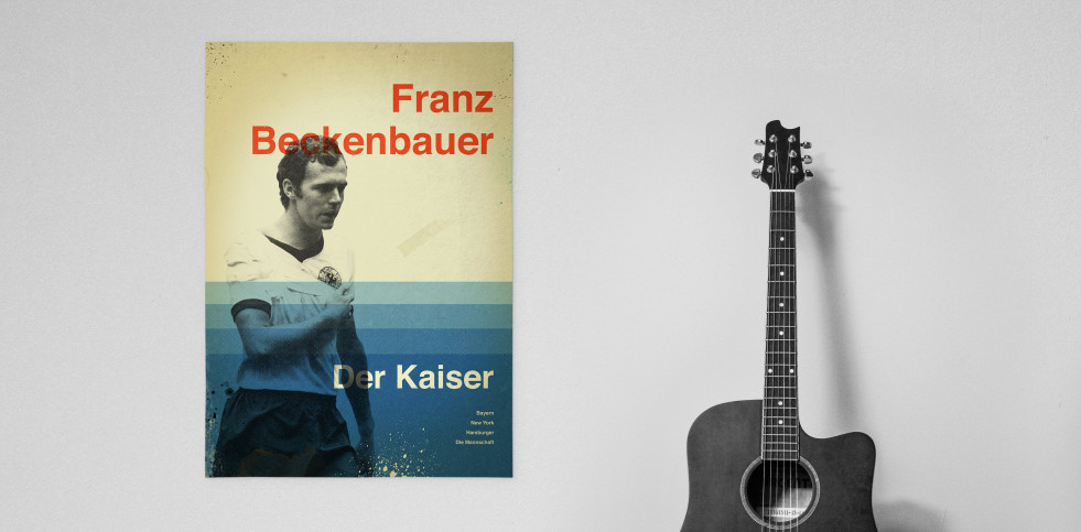 Beckenbauer - Poster bestellen - 11FREUNDE SHOP