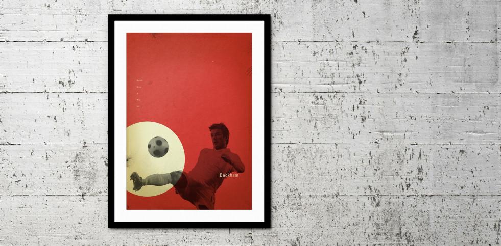 Beckham - Poster bestellen - 11FREUNDE SHOP