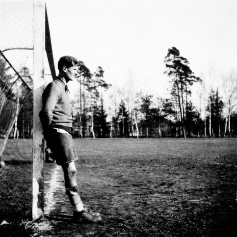 Ruhezone - Fußball Foto Wandbild - 11FREUNDE SHOP