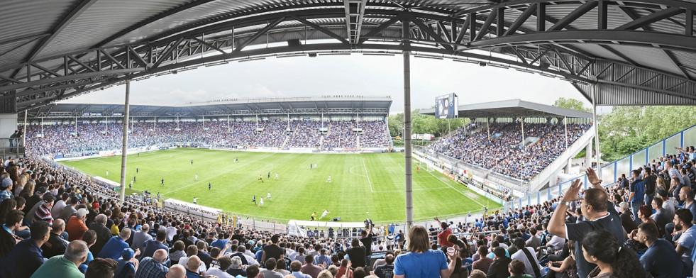 Mannheim (2016) - Stadion Wandbild Carl-Benz-Stadion - 11FREUNDE SHOP