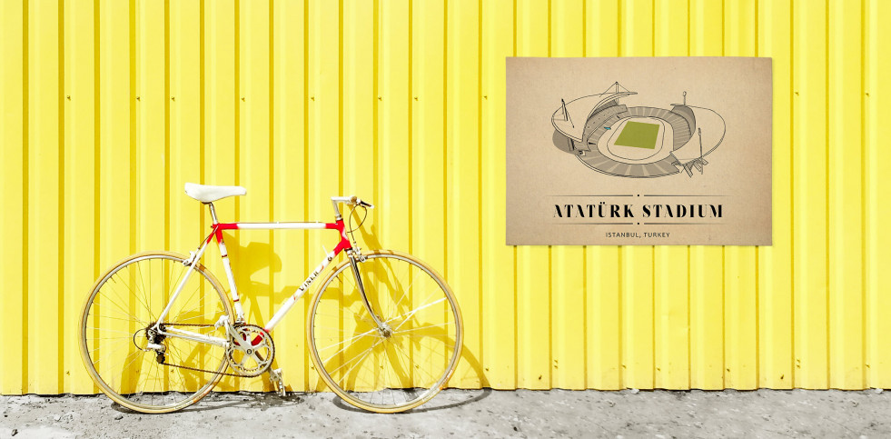 World Of Stadiums: Atatürk Stadium - Poster bestellen - 11FREUNDE SHOP