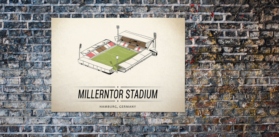 World Of Stadiums: Millerntor Stadium - Poster bestellen - 11FREUNDE SHOP