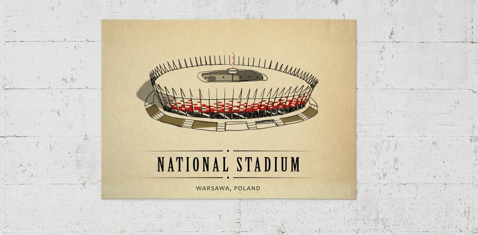 World Of Stadiums: National Stadium - Poster bestellen - 11FREUNDE SHOP