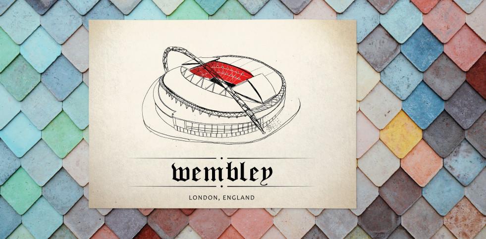 World Of Stadiums: Wembley - Poster bestellen - 11FREUNDE SHOP