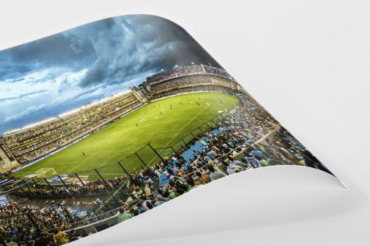 La Bombonera (Farbe) - Fußball Wandbild Poster - 11FREUNDE SHOP