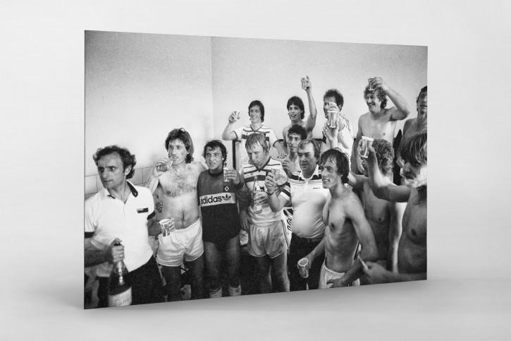 Der HSV feiert die Meisterschaft 1983