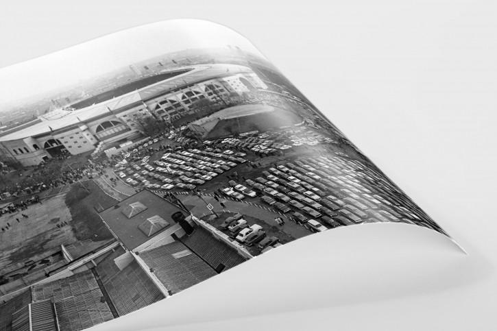 Vor dem Wembley-Stadion 1971