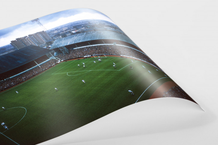 Über dem Stadion an der White Hart Lane - Tottenham vs. West Bromwich